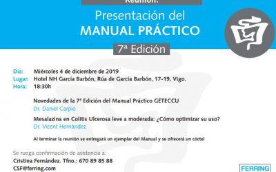 Presentaciones en Galicia del libro «Manual práctico en EII»