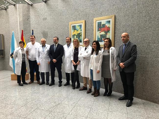 El Complejo Hospitalario Universitario de Pontevedra pionero en la administración de terapia con células madre en la enfermedad de Crohn fistulizante perianal, siendo el primer hospital en España en realizar este tratamiento fuera de ensayo clínico.